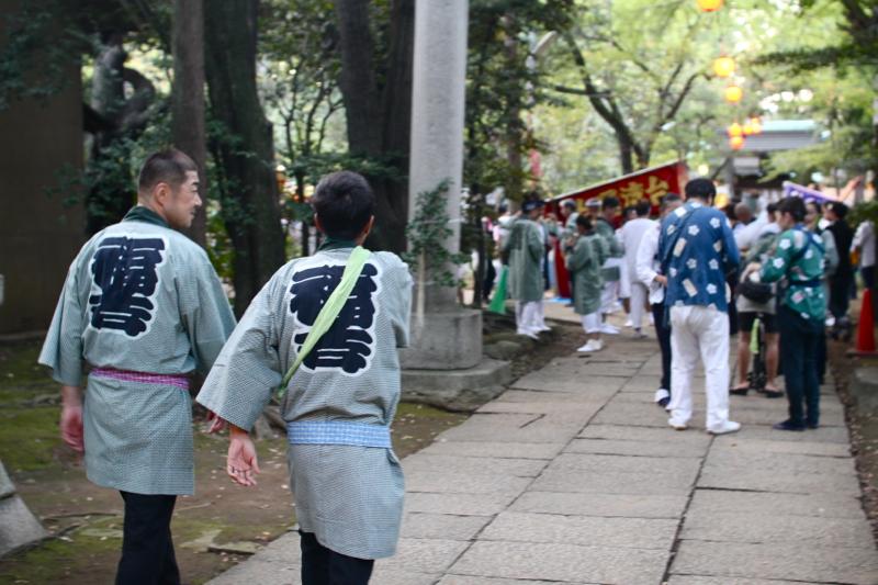 Hikawa shrine festival